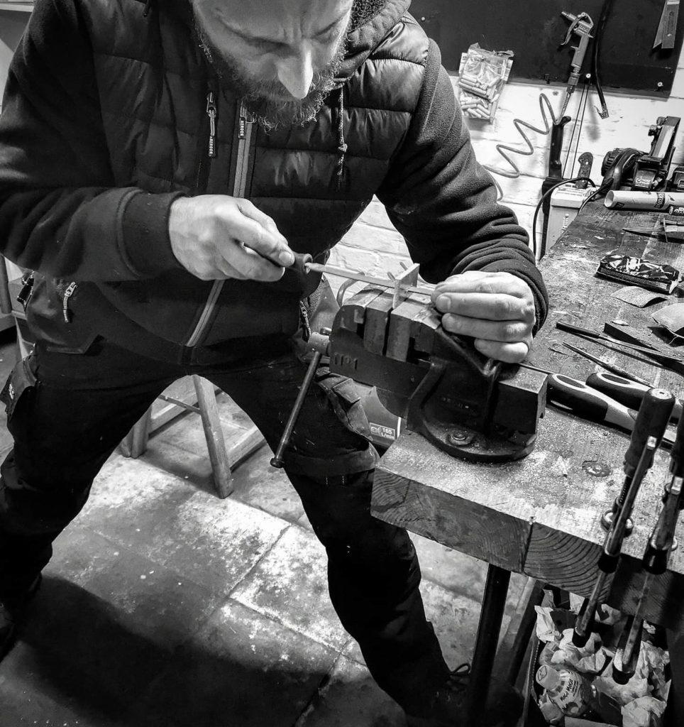 Aurax, artisan coutelier, couteaux artisanaux, Mousccron